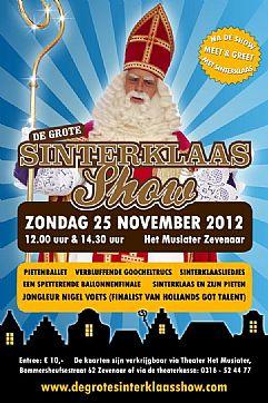 De Grote Sinterklaasshow 2012 In Zevenaar In De Liemers Nl