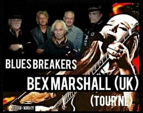 Tolkamer : Bluesbreakers & Bex Marshall Live - De Liemers - evenementen bezoeken en beleven! - in De Liemers .nl