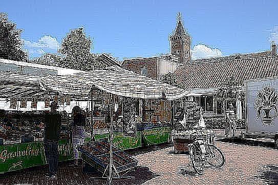 Giesbeek : Weekmarkt Giesbeek - De Liemers - evenementen bezoeken en beleven! - in De Liemers .nl