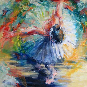 Thema expositie dans in zevenaar in de - Entree schilderij ...