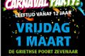 Zevenaar : Teenage Carnaval Party  - Alle evenementen in de categorie Feest - in De Liemers .nl