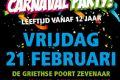 Zevenaar : Teenage Carnaval Party  - Alle evenementen in de categorie Feest - in De Liemers .nl