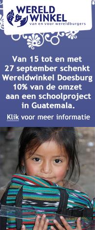 Wereldwinkel Doesburg helpt kinderen in Guatemala naar school